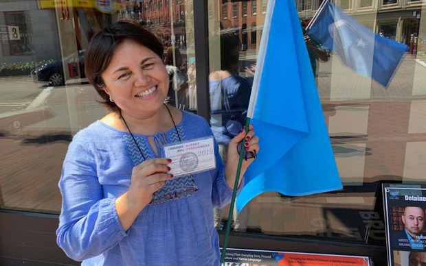 RFA | Protests in New York and Boston Reminds the World Not to Forget About the Uyghurs in Camps