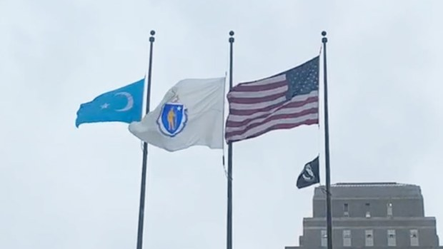 RFA | The East Turkistan Flag was Raised in Boston, USA