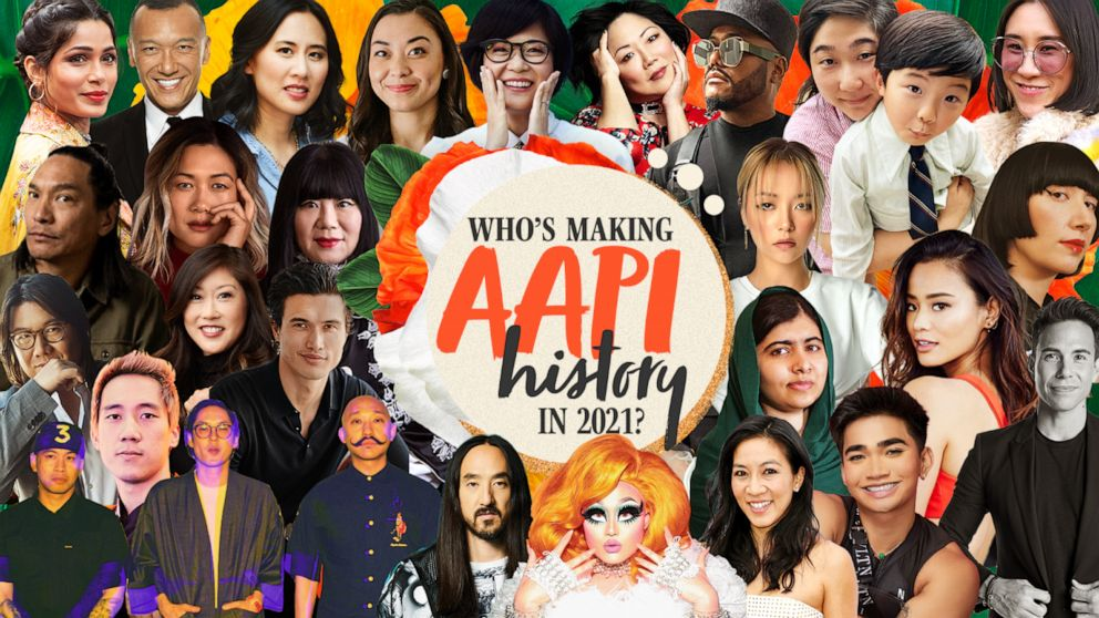 Good Morning America | Who is Making Asian American Pacific Islander History in 2021: The GMA Inspiration List